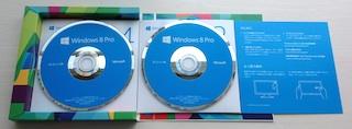 リテール版の DVD-ROM